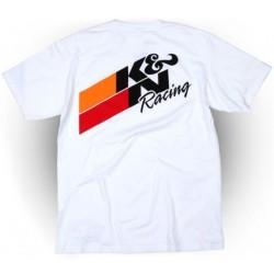 CAMISETA K&N RACING WUITE