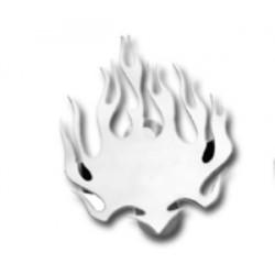 EMBELLECEDOR BOCINA FLAMES PARA HARLEY DAVIDSON 91-12
