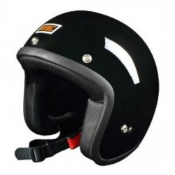 CASCO JET ORIGINE PRIMO NEGRO BRILLO