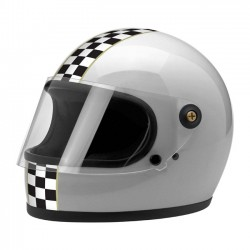 CASCO INTEGRAL BILTWELL GRINGO S LE CHECKER METALLIC SILVER