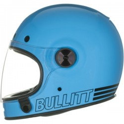"CASCO INTEGRAL BELL ""BULLITT"" RETRO BLUE"