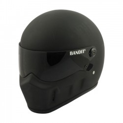 BANDIT FULL FACE HELMET SUPER STREET II MATTE BLACK