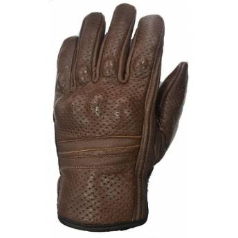 GUANTES PIEL MARRON MICROPERFORADOS SUMMER