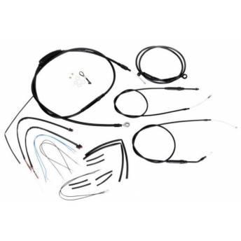 """KIT CABLES 14"""" HARLEY DAVIDSON SOFTAIL FLST/C/F/N 00-06 (OUTLET)"""