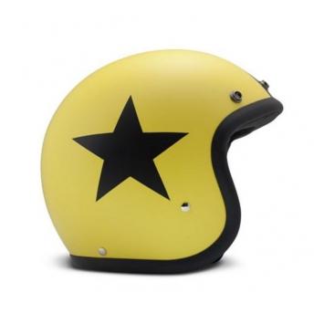 CASCO JET DMD AMARILLO BLACK STAR