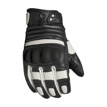 GUANTES ROLAND SANDS BERLIN NEGRO/BLANCO