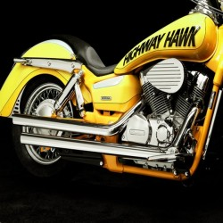 ESCAPE YAMAHA XVS1100 DRAG STAR/CLASSIC DOUBLE WALL