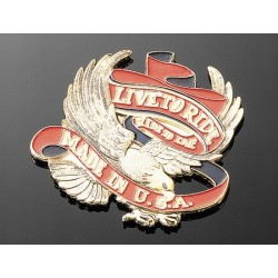 "COVER EAGLE EMBLEM ""LIVE TO RIDE USA"""