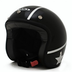 CASCO JET DMD CUSTOM BLACK REBEL