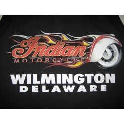 CAMISETA INDIAN MOTORCYCLE FLAME S/MANGAS (OUTLET)