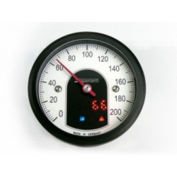 Motoscope speedo TINY BLACK 49MM