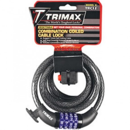 WIRE combination lock TRIMAFLEX U-LOCK