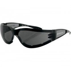 BOBSTER SHIELD II SUNGLASSES BLACK SMOKED