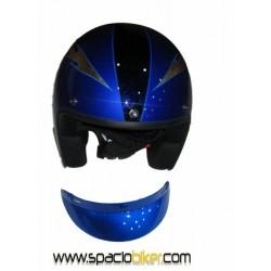 casco-jet-custom-retro-ii-cobalt-aerografiado