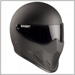 CASCO INTEGRAL BANDIT CRYSTAL NEGRO MATE