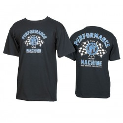 CAMISETA PERFORMANCE MACHINE PM RACING BLCK