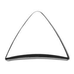 PYRAMID Portamatriculas HOLE CHROME TRIM