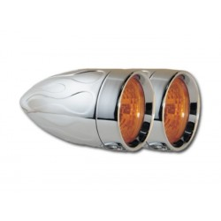Adjure AMBER BEACON LIGHTS HALOGEN HARLEY