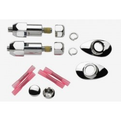 SIGNAL RELOCATION KIT MISCELLANEOUS CHROME HARLEY MODELS