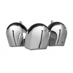 HARLEY SOFTAIL CHROME HORN COVER 93-03