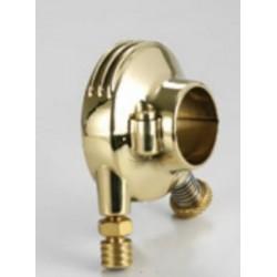 EXTERNAL THROTTLE BOX KUSTOM TECH DELUXE Polished Brass