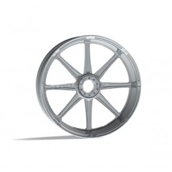 "SOLID CHROME WHEEL REVTECH VELOCITY 19 ""X 2.15"""