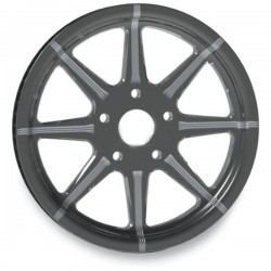 "MIDNIGHT REVTECH TIRE SOLID VELOCITY 18 ""X 4.25"""
