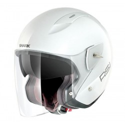 CASCO SHARK RSJ ST BLANCO BRILLO