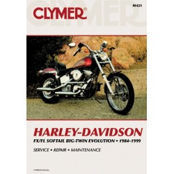 REPAIR MANUAL HARLEY DAVIDSON MOTOR BLOCK BIG TWIN RIGID 8