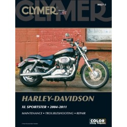 REPAIR MANUAL 04-11 HARLEY DAVIDSON Sportster EVO
