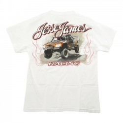 CAMISETA JESSE JAMES JUMP RACING WHITE