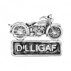 PIN DILLIGAF MOTORCYCLE