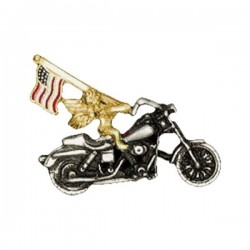 PIN ANGEL FLAG BIKE