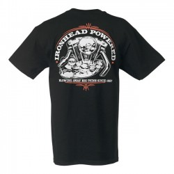CUSTOMS IRONHEAD POWERED SHIRT lowbrow SPORTSTER