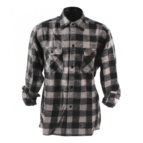 CAMISA FOSTEX CHECKERED GREY