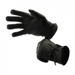 LONGHORN FOSTEX INDIANA BLACK GLOVES