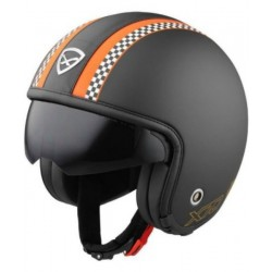 JET HELMET NEXX X 70 MATT BLACK / ORANGE