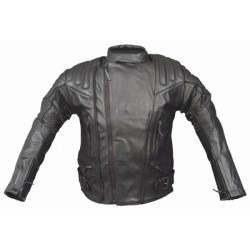 CHAQUETA PIEL ALEX ORIGINALS 8040 NEGRO
