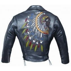 CHAQUETA PIEL ALEX ORIGINALS INDIAN