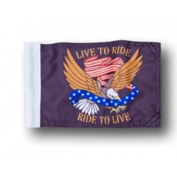 RIDE TO LIVE FLAG ALEX ORIGINALS