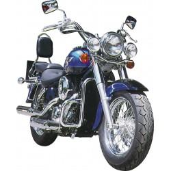 DEFENSA MOTOR 30MM NEGRA KAWASAKI VN800 / VN400