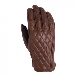 BROWN LEATHER GLOVES RSD RIOT