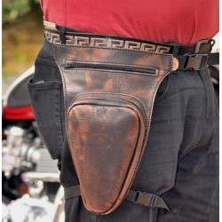BOLSO PERNERA PIEL REVOLVER OLD-RAT