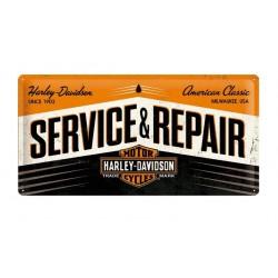 HARLEY DAVIDSON PLATE GARAGE SERVICE