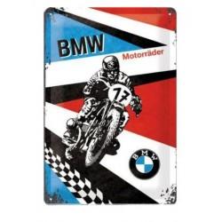 PLACA GARAJE BMW MOTORBIKES