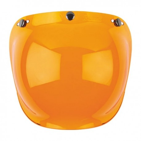 BILTWELL ORANGE BUBBLE SCREEN