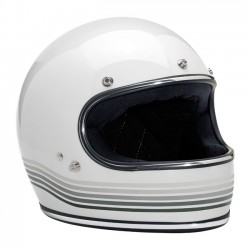 FULL FACE HELMET WHITE SPECTRUM BILTWELL GRINGO