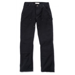 DOUBLE BLACK WORK TROUSERS CARHARTT