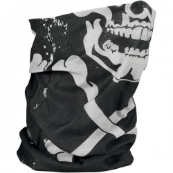 BRAGA MULTIFUNCIONAL CROSSBONES SKULL FLEECE