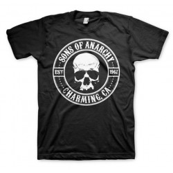 CAMISETA SONS OF ANARCHY SEAL